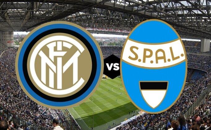 Inter SPAL canlı hangi kanalda? Inter SPAL maçı saat kaçta?