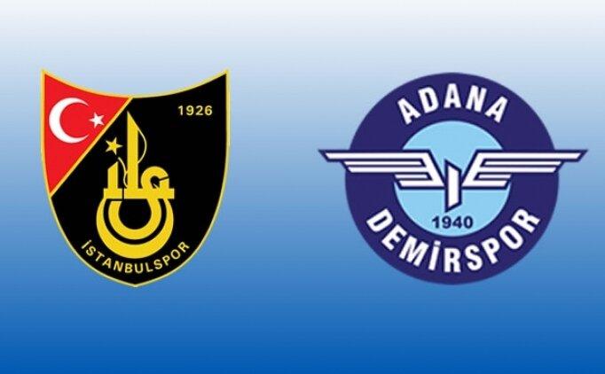 İstanbulspor Adana Demirspor maçı canlı hangi kanalda? İstanbulspor Adana Demirspor maçı saat kaçta?