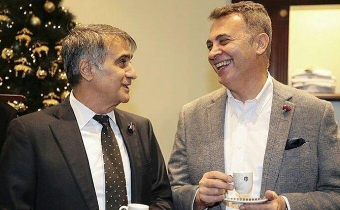Beşiktaş'ta başkan Fikret Orman soyunma odasına indi!