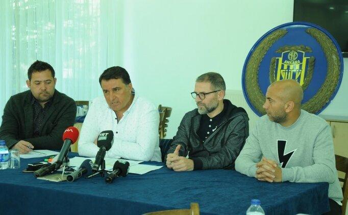 Ankaragücü'nde açıklama: 'VAR ile penaltı pozisyonu vardı'