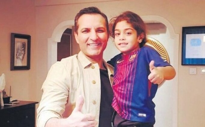 Rafet El Roman, İranlı minik yıldıza yardım etti!