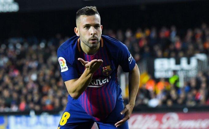 Jordi Alba: 'Bu takım tüm kupaları istiyor!'