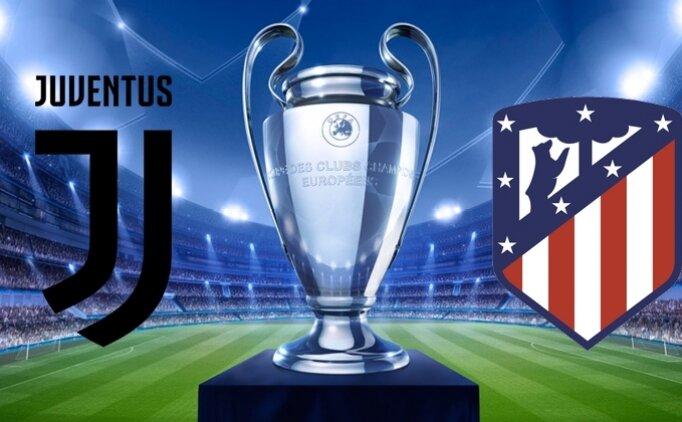 Juventus Atletico Madrid canlı hangi kanalda? Juventus Atletico Madrid maçı saat kaçta?
