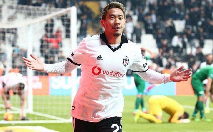 Beşiktaş'ta Kagawa'dan veda mesajı