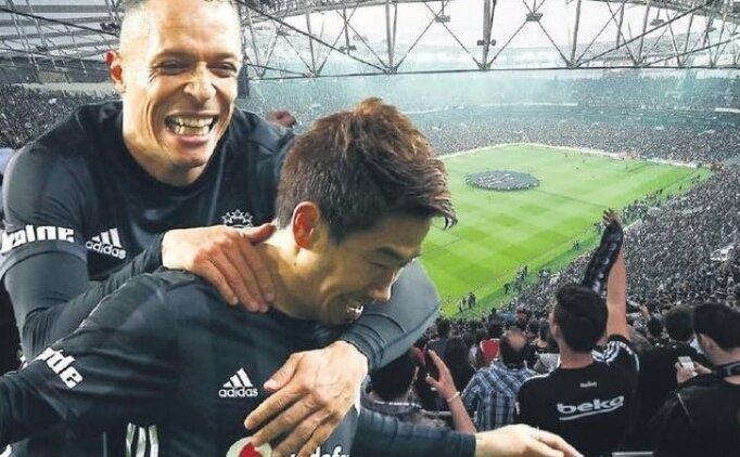 Beşiktaş'ta  Shinji Kagawa'ya hoş geldin partisi