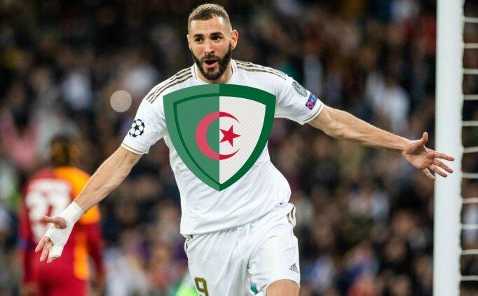 Benzema: 'Bırakın Cezayir için oynayayım'
