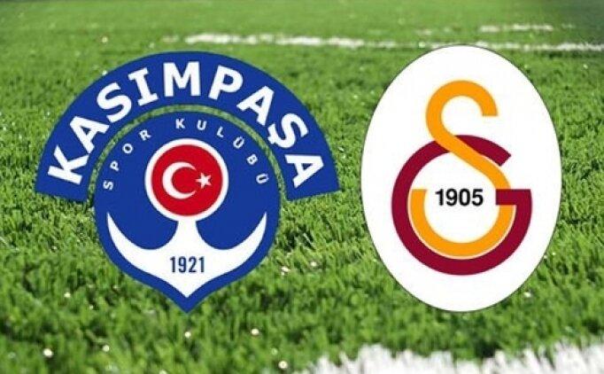 Kasımpaşa Galatasaray maçı canlı hangi kanalda? Kasımpaşa Galatasaray maçı saat kaçta?