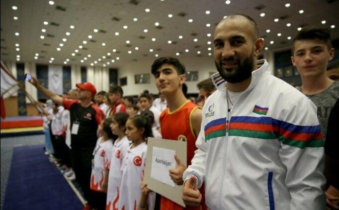 Wushu Kung Fu Şampiyonası'nda Turkiye madalyaları götürdü