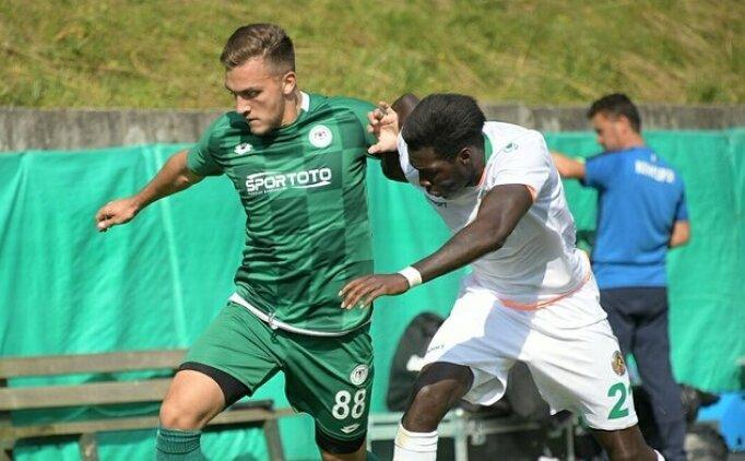Konyaspor, hazırlık maçında Alanyaspor'a diş geçiremedi