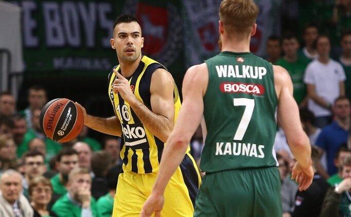 Fenerbahçe Beko, Litvanya'da üstünlüğü aldı!