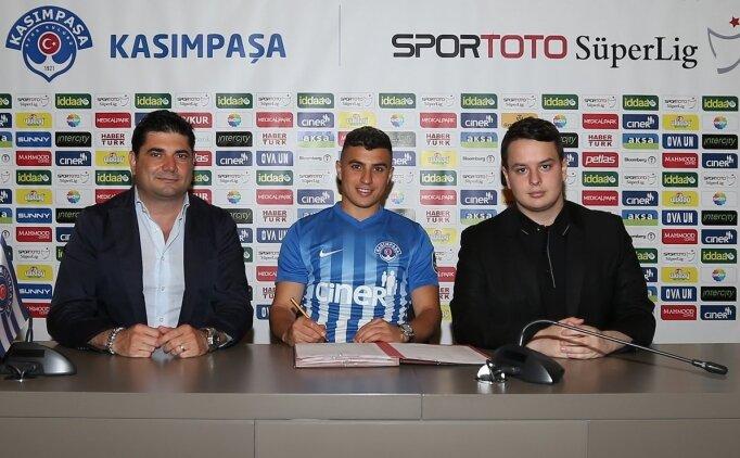 Karim Hafez, bir sezon daha Kasımpaşa'da