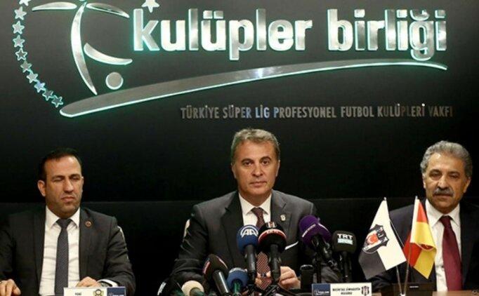 Kulüpler Birliği'nden 19 Mart'ta kritik zirve!