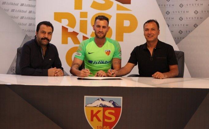 Eray İşcan'dan Kayserispor'a kötü haber!