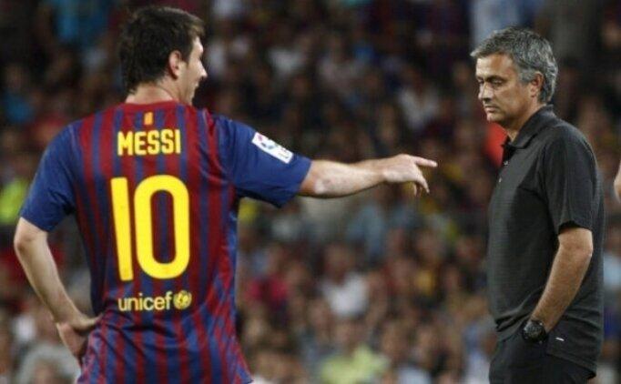 Jose Mourinho: ''Lionel Messi beni daha iyi yaptı''