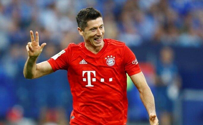 Lewandowski, Schalke karşısında Bayern'i sırtladı
