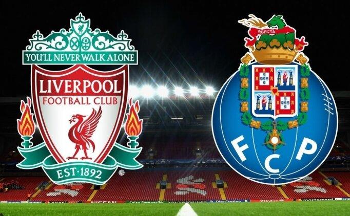 Liverpool Porto maçı canlı hangi kanalda? Liverpool Porto saat kaçta?