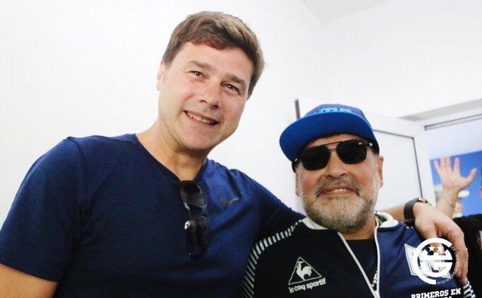 Pochettino ve Maradona buluştu