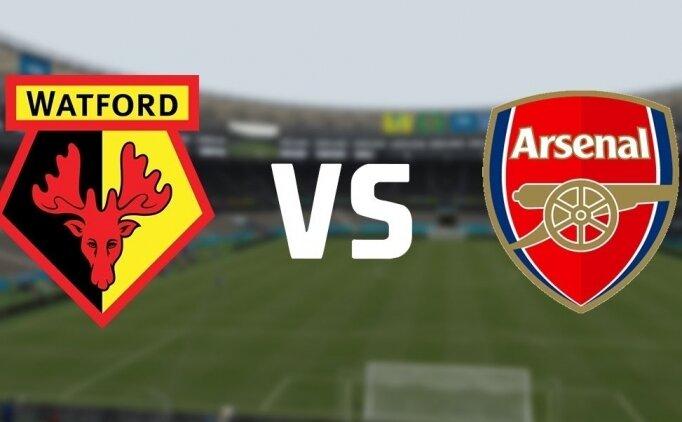 Watford Arsenal maçı canlı hangi kanalda? Watford Arsenal saat kaçta?
