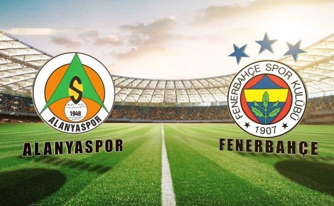 Alanyaspor Fenerbahçe özet İZLE, Fenerbahçe Alanyaspor maçı golleri izle