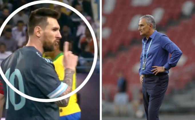 Brezilya, Messi'ye isyan etti; 'Hakemle gülüştüler!'