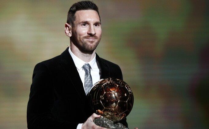 Ballon d'Or 6. kez Messi'nin oldu