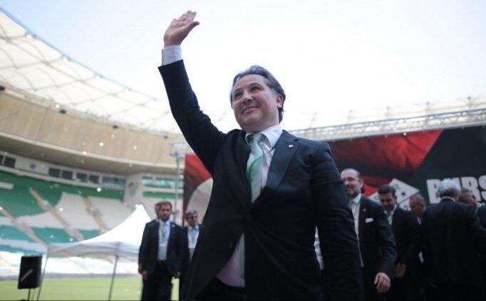 Bursaspor'un yeni başkanı Mesut Mestan oldu!
