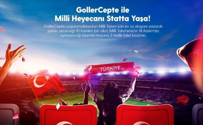 GollerCepte ile Türkiye'yi statta destekle!