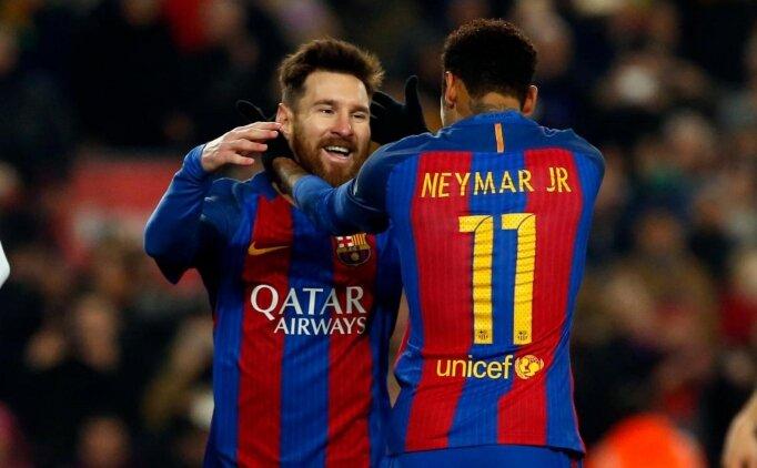 Messi: 'Neymar'ı çok isterdim'