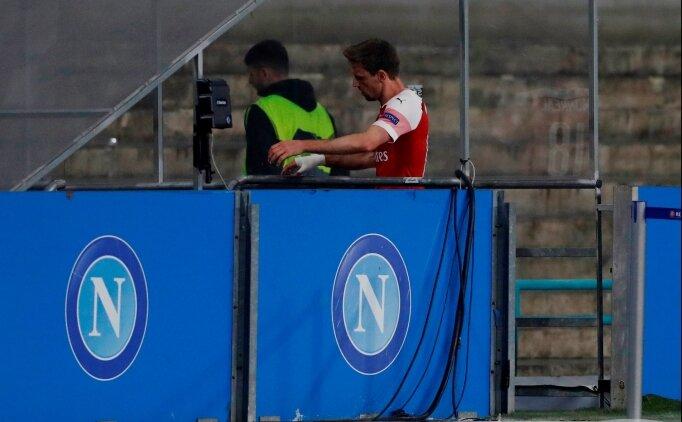 Arsenal - Napoli maçını bırakıp tuvalete koştu