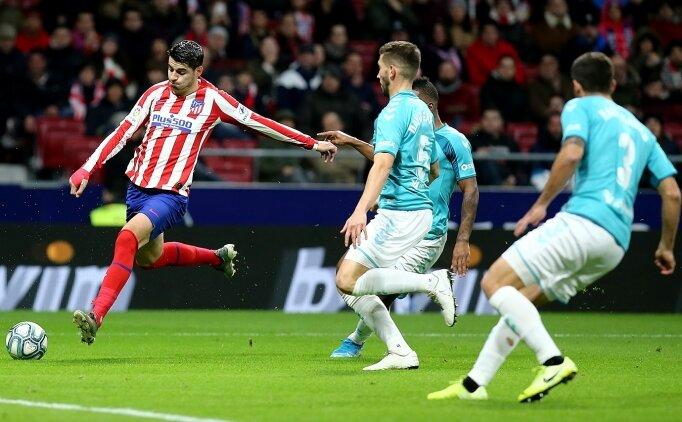 Atletico ikinci yarıda galibiyete uzandı