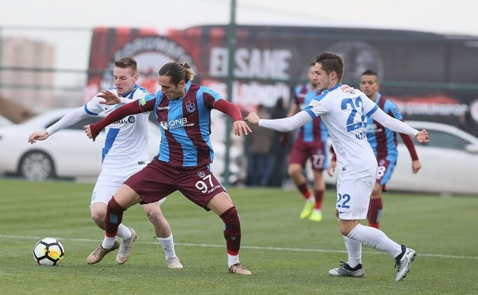Trabzonspor hazırlık maçında mağlup oldu