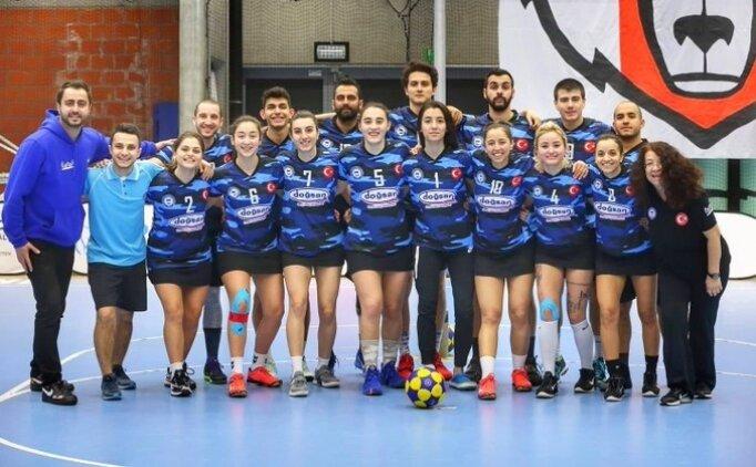 Marmara Üniversitesi Spor Kulübü Korfbol Takımı'nın Şampiyonlar Ligi heyecanı