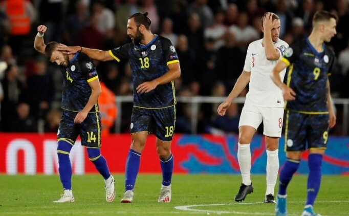 Muriqi'in gol ve asistleri Kosova'ya yetmedi!