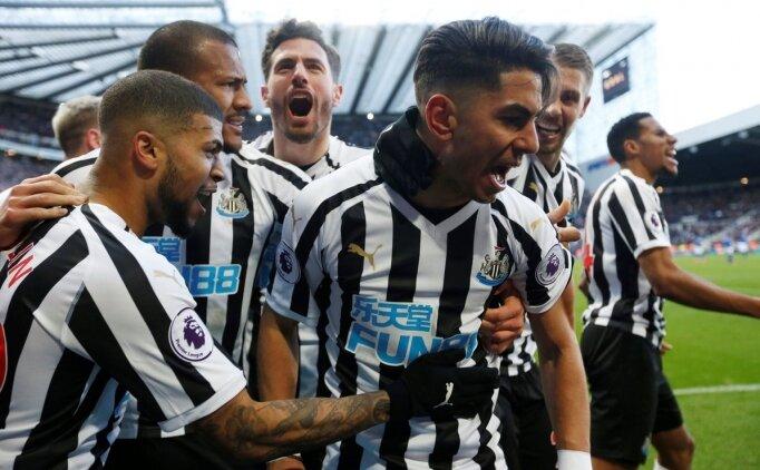 Newcastle'dan Everton'a karşı geri dönüş!