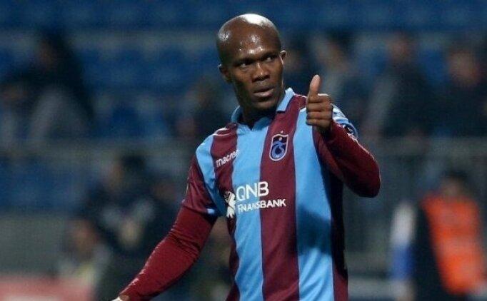 Trabzonspor'da Nwakeme hazır kıta
