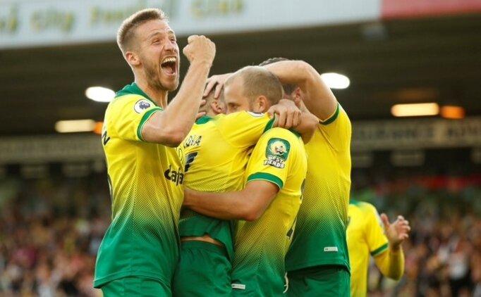 Norwich, Manchester City'i 3 golle devirdi!