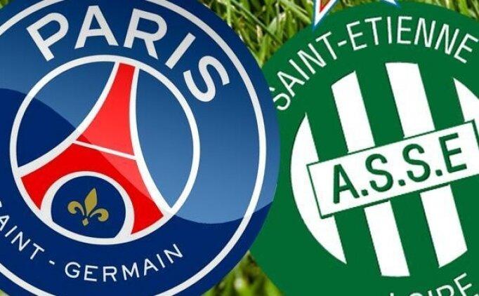 Saint-Etienne PSG(Paris Saing-Germain) maçı canlı hangi kanalda? Saint-Etinne PSG maçı saat kaçta?