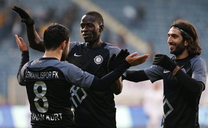 Osmanlıspor, 8 maçlık seriden memnun