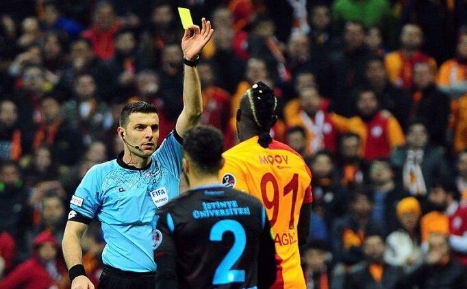 İşte Ümit Öztürk'ün Galatasaray-Trabzonspor maçı raporu
