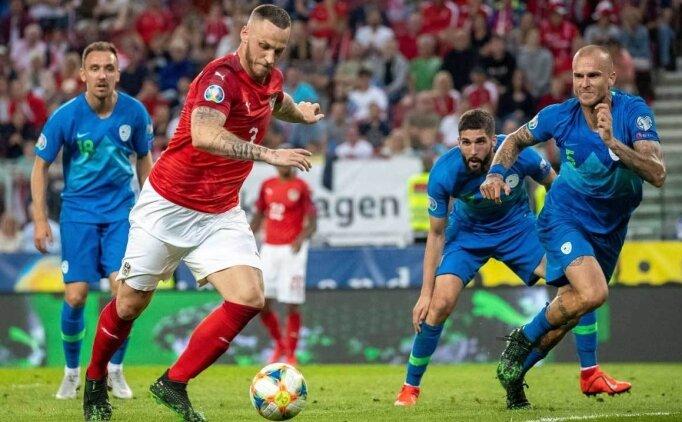 Avusturya, Slovenya'yı tek golle yıktı! Miha Zajc...