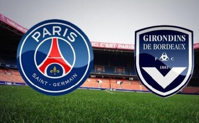 Paris Saint-Germain(PSG) Bordeaux maçı canlı hangi kanalda? PSG Bordeaux maçı saat kaçta?