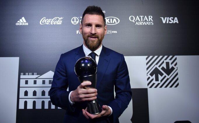 İşte Messi ve Ronaldo'nun 'The Best' oyları!