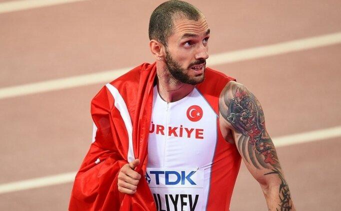 Ramil Guliyev'den bir madalya daha!