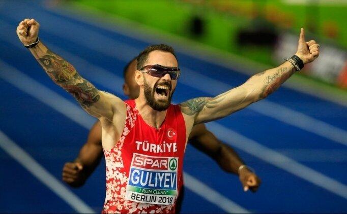 Milli atletler finale kaldı!