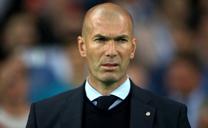 Real Madrid'de günah keçisi Zidane!