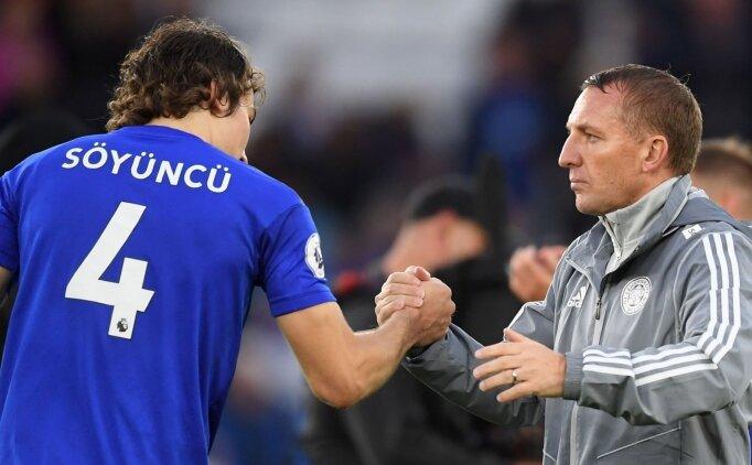 Brendan Rodgers: 'Çağlar Söyüncü ayrılmayacak'