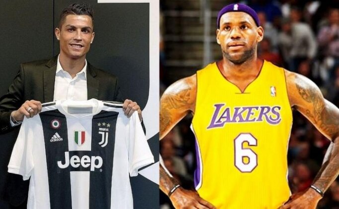 Ferdinand: 'Ronaldo ile LeBron çok farklı'