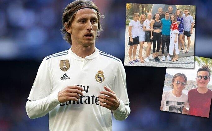 Luka Modric, 10 kişilik ekiple Türkiye'de tatilde