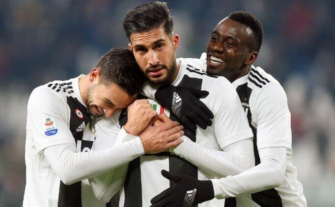 Ronaldo kaçırdı, Emre Can attı! Juve rahat kazandı