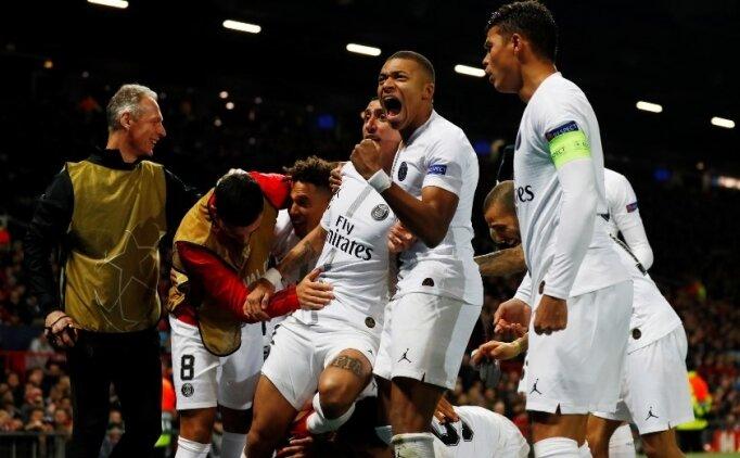 PSG, Mbappe ve Di Maria ile Old Trafford'da avantajı kaptı!